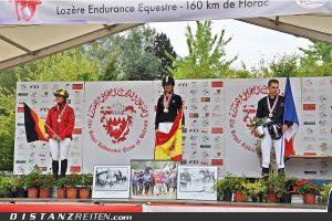 Europameisterschaft im Distanzreiten 2011 in Florac, Foto: Barbara Miller