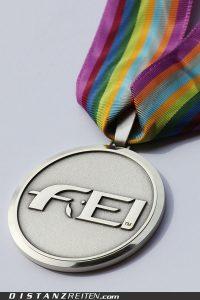 Seltenheitswert: Die Silbermedaille von Florac, Foto: Christian Lüke