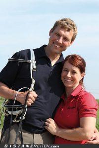Ein Herz und eine Seele: Christina Gerloff und Jan Oetjen, Foto: Victoria Oldenburg