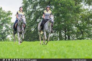 Moira und Nayla Al Samarraie, ZSAA-Marbach-Distanz 2016, Foto: Jan Kirschnick