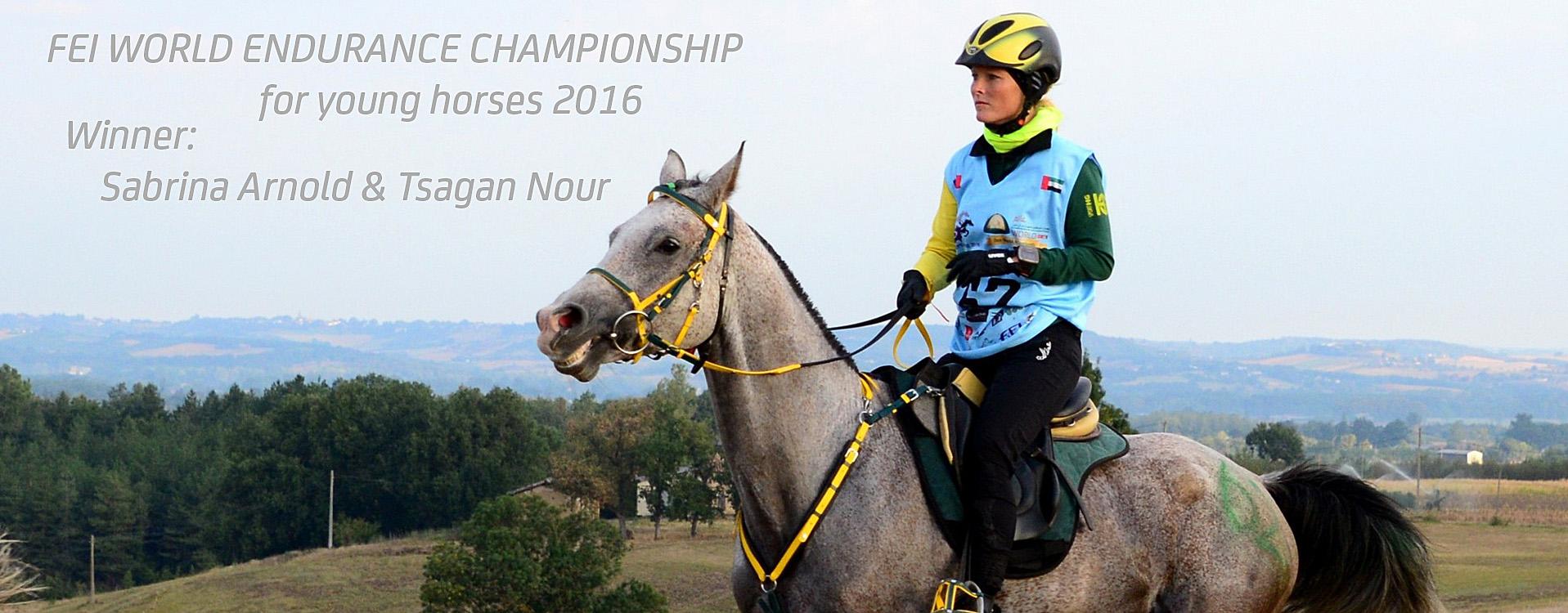 Platz 1 für Sabrina Arnold mit Tsagan Nour, Negrepelisse 2016, Foto: Yannick Vergnes